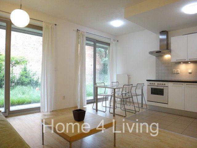 Pronájem prostorného bytu 3+kk, novostavba, terasa, parkovací stání, privatní zahrádka,