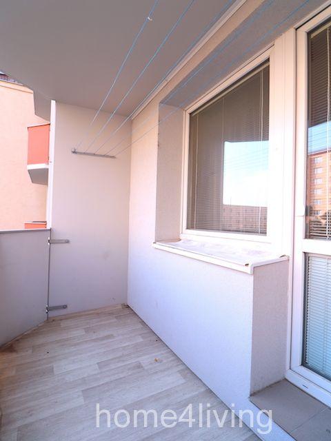 Pronájem bytu 2+kk, Brno - Černovice, ul. Turgeňevova, částečně zařízený/nezařízemý, nová lodžie