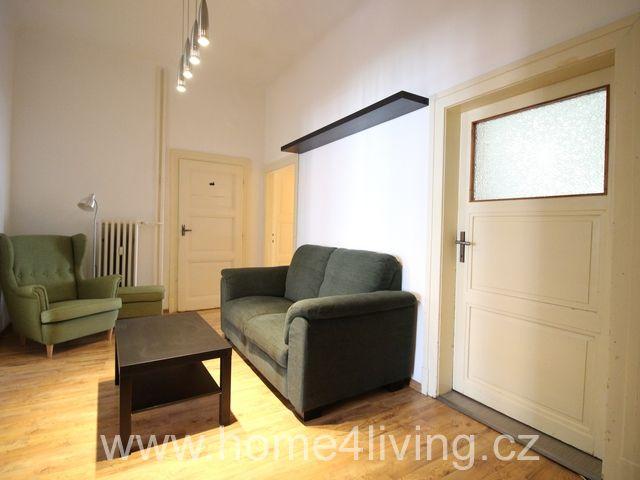 Pronájem bytu 4+1, Brno - Centrum, ul. Botanická, balkon, komora, možnost dovybavit