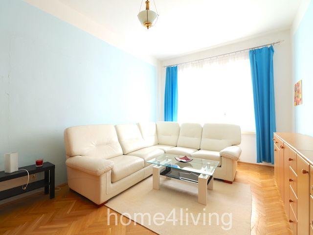 Pronájem hezkého bytu 3+1  v centru Brna, balkon, šatna, kuchyňská linka vč. veškerých spotřebičů