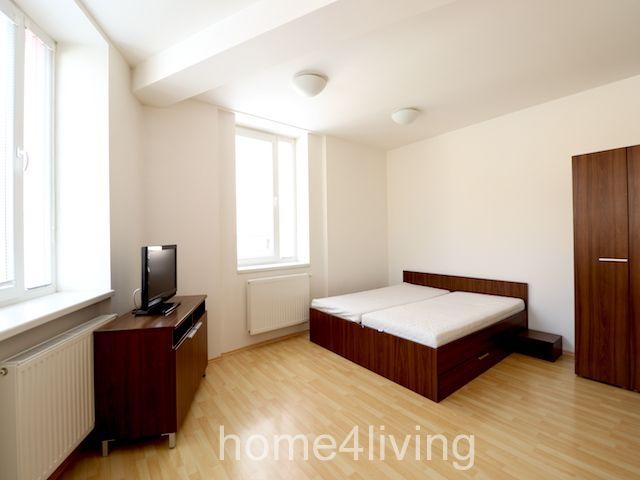 Pronájem krásného bytu 1+kk, Brno - Centrum, kompletně vybavený