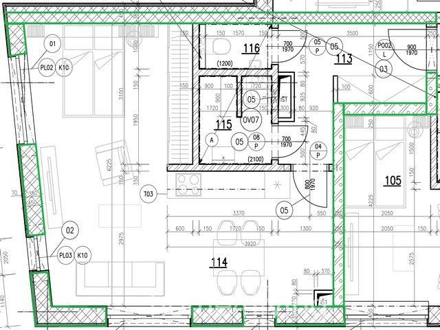 K prodeji byt 2+kk v nově vzniklém developerském projektu BD Košinova, kolaudace březen 2021