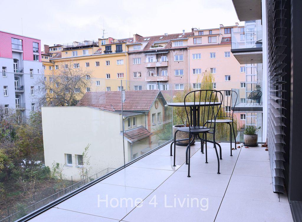 Pronájem bytu 2+kk, novostavba, terasa, v blízkosti centra, ul. Šumavská