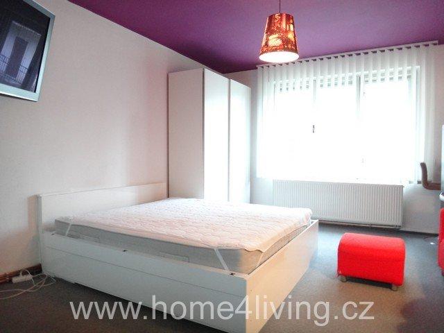 Pronájem hezkého bytu 1+kk, Brno - Štýřice, zařízený, výborná dostupnost do centra Brna, v blízkosti bussiness parku Holanská, myčka, pračka, lednice